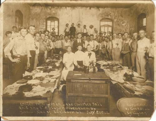 Laborers Imprisoned in DeRidder after the Grabow Riot