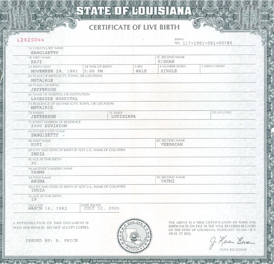 Louisiana birth certificate sample image collections certificate louisiana birth certificate sample thank you for visiting yadclub nowadays were excited to declare that we have discovered an incredibly interesting topic 1betcityfo Image collections