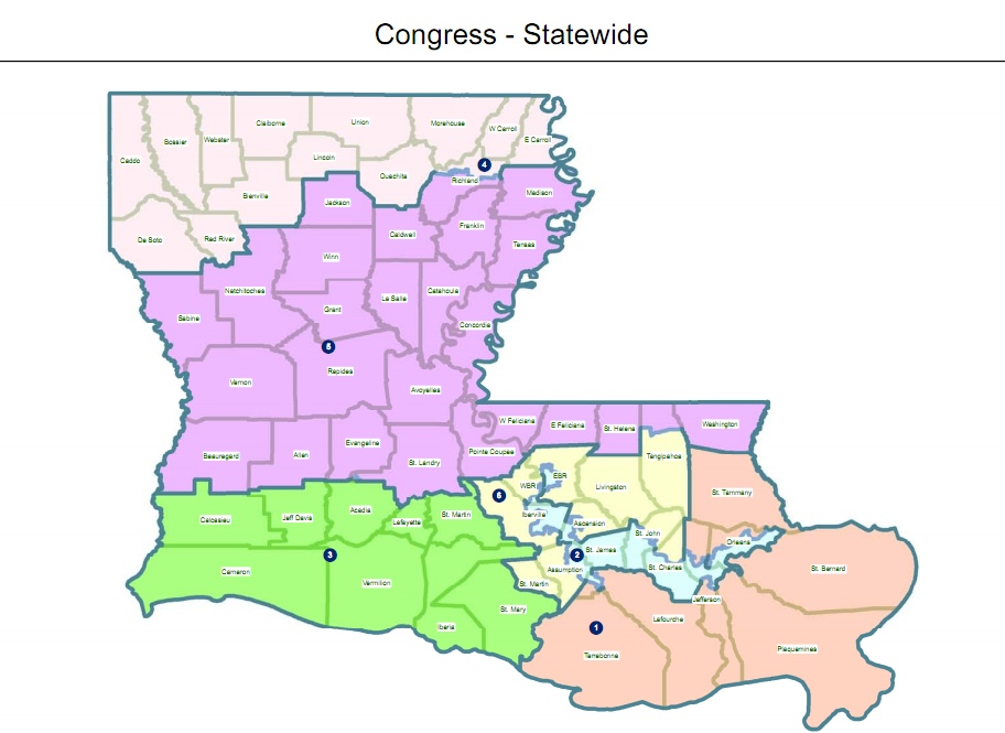 Jindal Promises To Veto Central Louisiana Congressional District