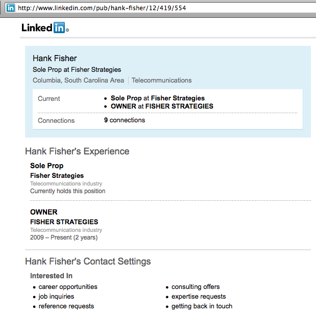 FisherLinkedIn