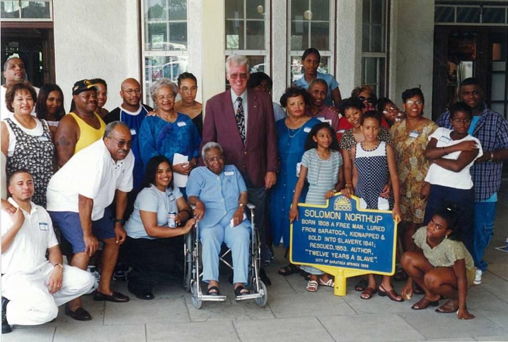 Solomon Northup's living descendants